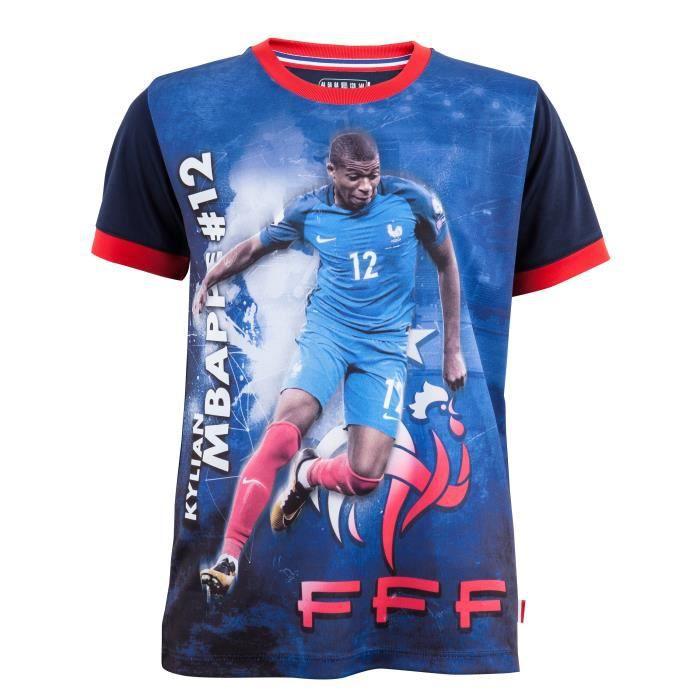 493d652f5d1d4 Maillot FFF - Kylian MBAPPE - Collection officielle Equipe de France ...