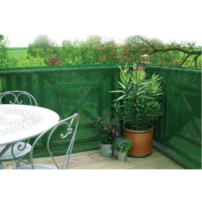 Ecran de jardin occultant à 80 % Nortene - Longueur 3 m - Hauteur 1 ...