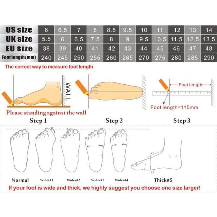 Chaussures de Sport de Course pour HommesNoir