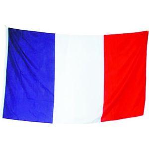 DRAPEAU - BANDEROLE drapeau France Français 90 x 60 cm