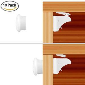 BLOQUE TIROIR Bloque-tiroir-placard pour bébé-enfant - 10 verrou