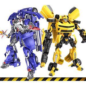 VOITURE ENFANT Lot de 2 Voiture Transformers Bumblebee + Optimus