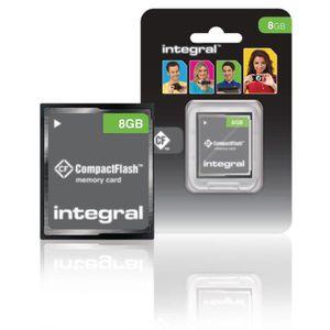 CARTE MÉMOIRE stockage carte mémoire intégrale INCF8GV2 Cf (Comp