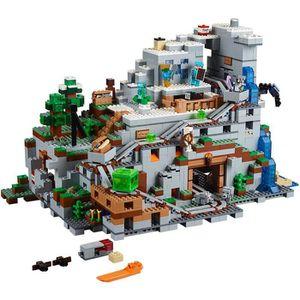 ASSEMBLAGE CONSTRUCTION LEGO Minecraft La Montagne Cave 21137 Kit de const
