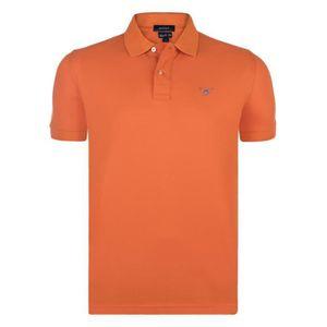Polo orange homme - Achat   Vente Polo orange Homme pas cher ... 70317a63033d