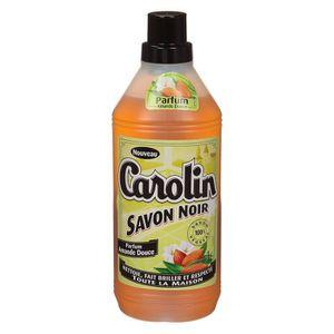 NETTOYAGE SOL CAROLIN  Savon Noir Amandes Douces 1 l
