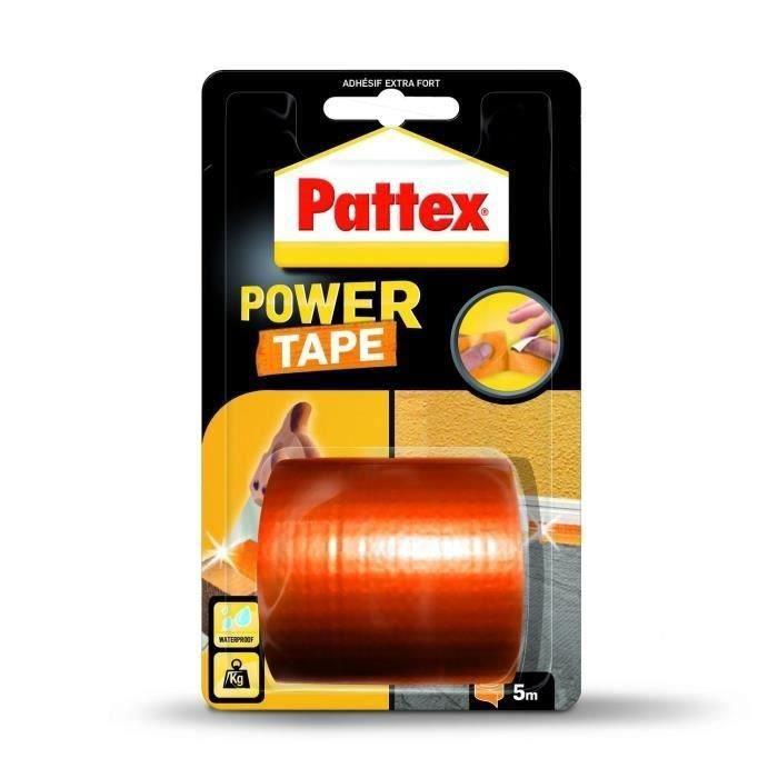 PATTEX Adhésifs Réparation Power Tape Orange 5m