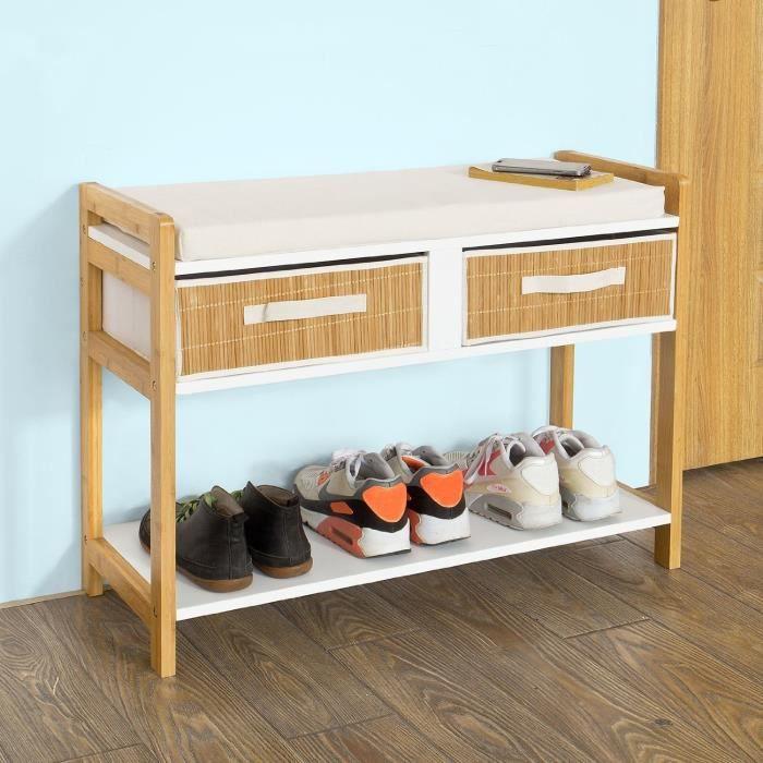 petit rangement chaussures top fabriquer un meuble a chaussure avec des palettes se faire un. Black Bedroom Furniture Sets. Home Design Ideas