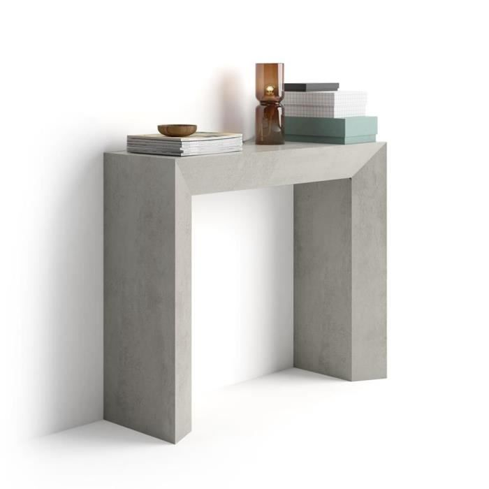 Mobilifiver 75 Italy Console CmMélaminéMade GiudittaCiment90 30 In Table X HYbe29IEDW