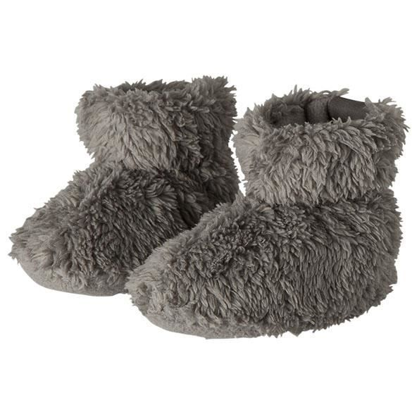 BARTS - Chaussures fourrure polaire marron glacé bébé fille du 3 au 12 mois Barts