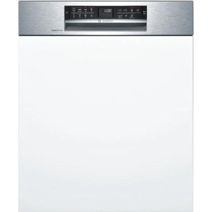 LAVE-VAISSELLE Bosch Serie 6 SMI68MS02E Lave-vaisselle intégrable