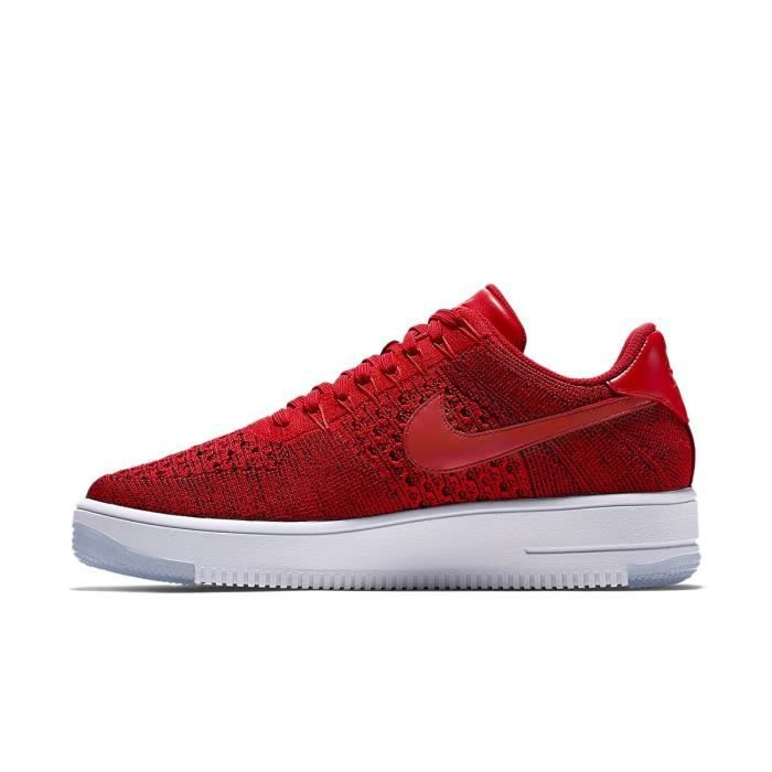 Rouge Ultra Flyknit 1 Basket Nike Low 817419 Force 600 Air rsxBtCohQd