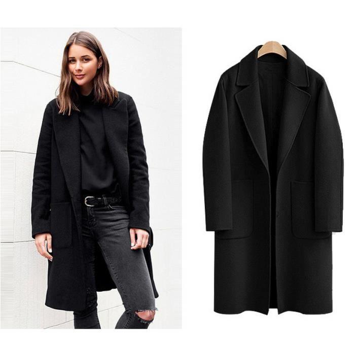 09c6b15ea509 Automne hiver longue femme manteau Cachemire fourrure coton plus chaud longue  veste femme nouvelle mode