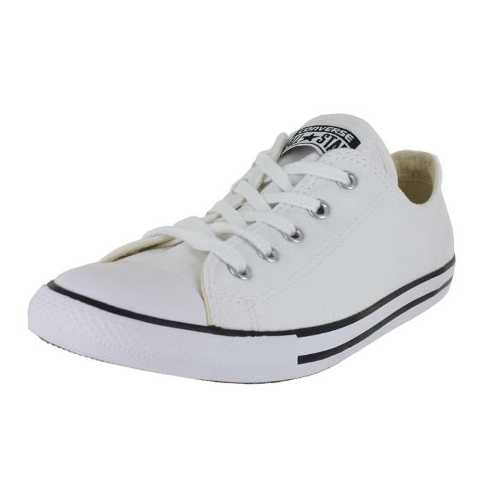 7bbb69a950ee68 Converse Chuck Taylor All Star Dainty Ox LT6GF Taille-39 1-2 Noir ...