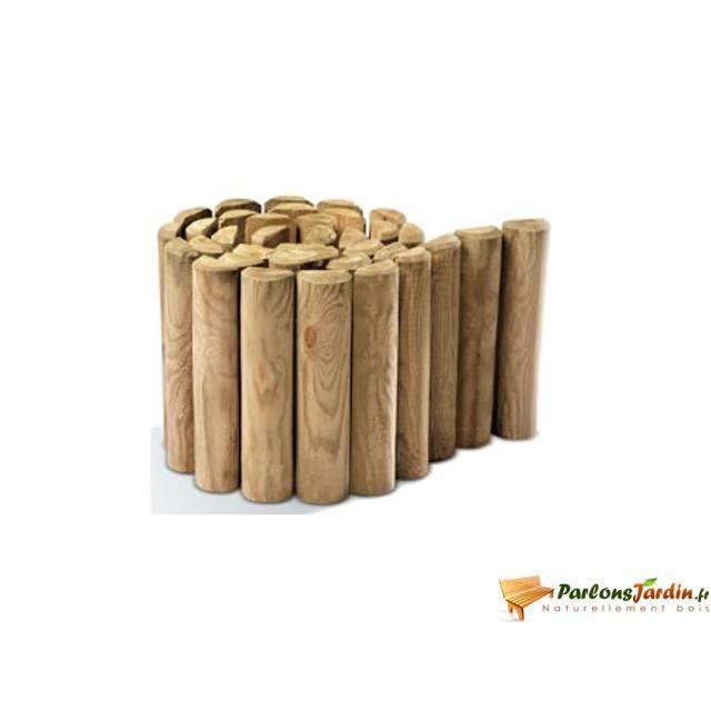 Bordure de jardin bois achat vente bordure de jardin for Bordure bois a planter pas cher