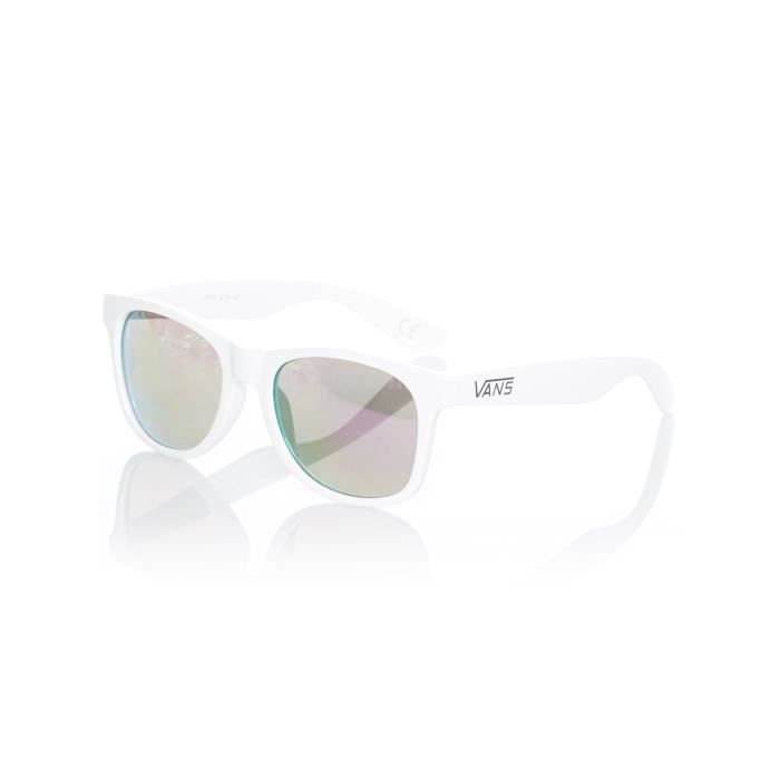 7f363ba24ef00 Lunettes De Soleil Vans Spicoli 4 Blanc-Violet - Achat   Vente ...