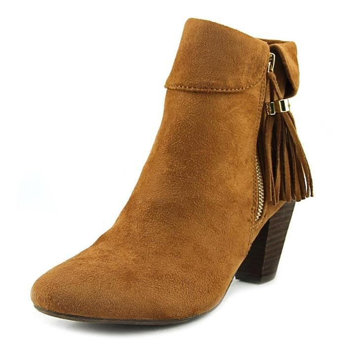 Womens Moriah Closed Toe Ankle Suede Fashion Boots T2ZX1 Taille-40 1-2