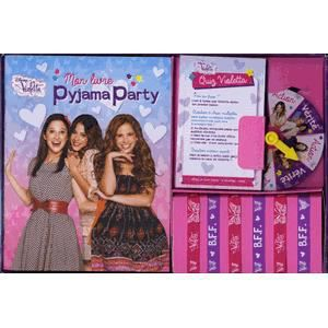 LIVRE JEUX ACTIVITÉS Mon coffret Pyjama Party Violetta