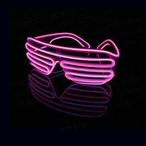 LUNETTES DE SOLEIL Lunettes Volets LED Néon Lumineux Coloré Décoratio 41d6cc4c3d89