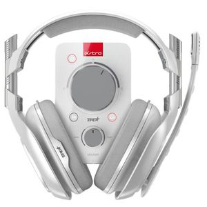 CASQUE  - MICROPHONE ASTRO Casque Gaming A40 TR + Mixamp Pro TR Blanc -