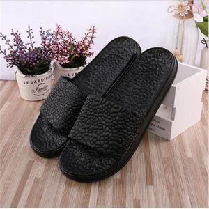 Tongs homme Confortable chaussure de luxe homme pantoufle plage hommes de chaussures d'été sandales Plus De Co dssx124gris41 c5av7zPf