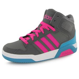 new style 664a5 96512 BASKET Adidas Neo Bb9tis Mid gris, baskets mode enfant ...