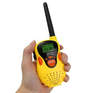 TALKIE-WALKIE JOUET 2Pcs Durable Walkie Talkie 30~50M Two voies Radio