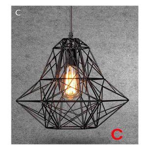 LUSTRE ET SUSPENSION STOEX® Suspension Cage Forme Diamant Contemporain
