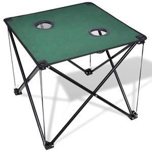Table de jardin vert - Achat / Vente Table de jardin vert ...