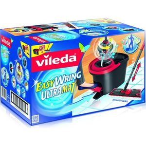 SEAU - PRESSE VILEDA Set complet Easy Wring Ultra Mat : balai à