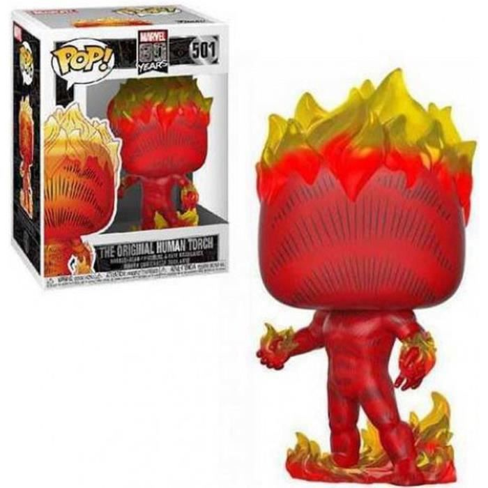 Figurine Funko Pop! Marvel : First Appearence - Human Torch
