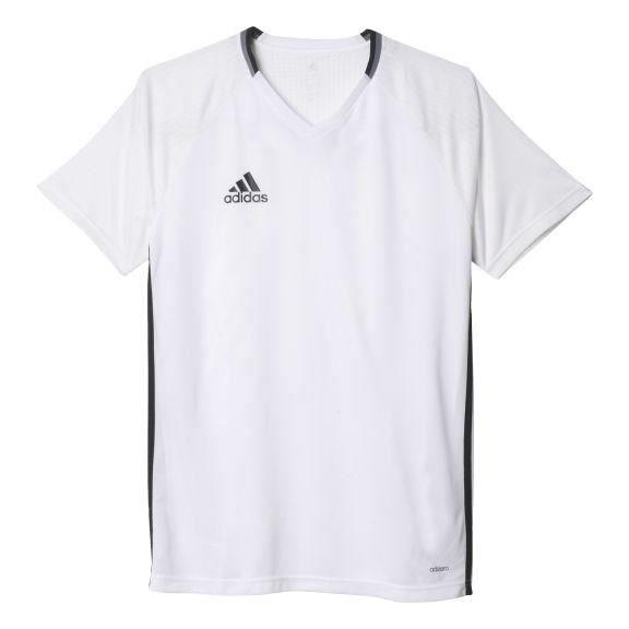 ADIDAS Maillot d'entrainement de Football Condivo 16 Blanc / Noir
