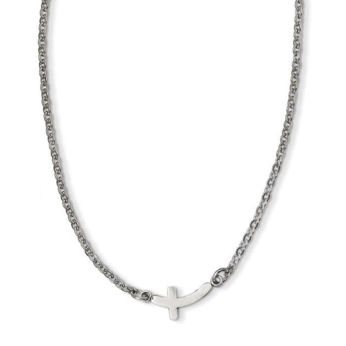 En acier inoxydable Croix latérale - 45,7 cm (18 )