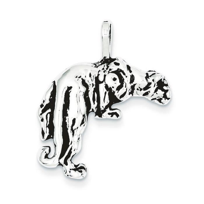 Breloque en argent sterling-pendentif-panther
