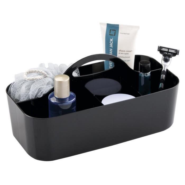 porte accessoire valet de douche mdesign pour salle de bain et le r - Valet De Salle De Bain
