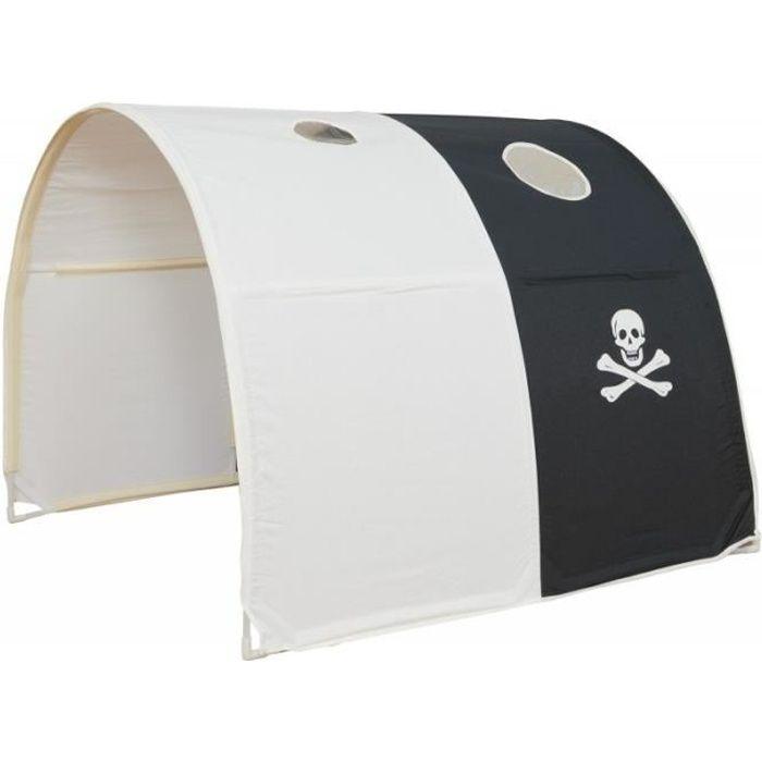 Tunnel pour lit enfant superposé tente accessoires pirate ...