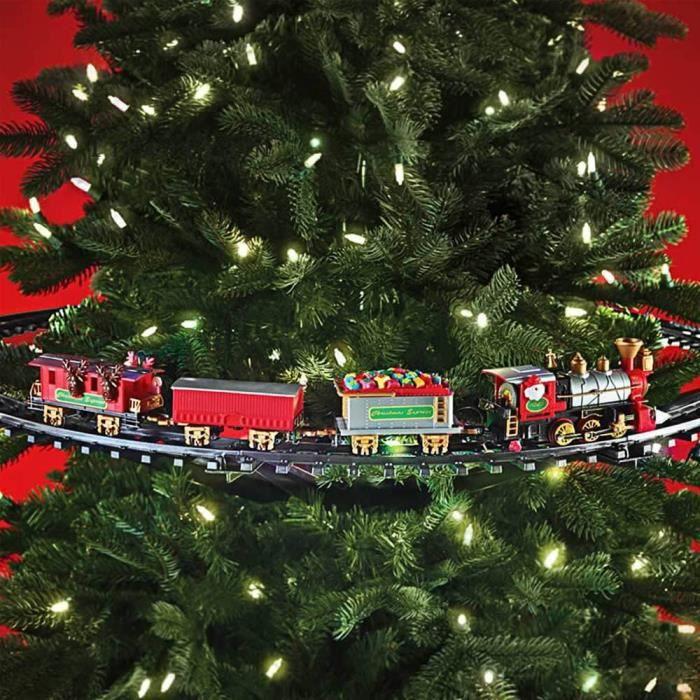train sapin de noel Rails et Train à Accrocher à un Sapin de Noël   Cadeau Maestro  train sapin de noel