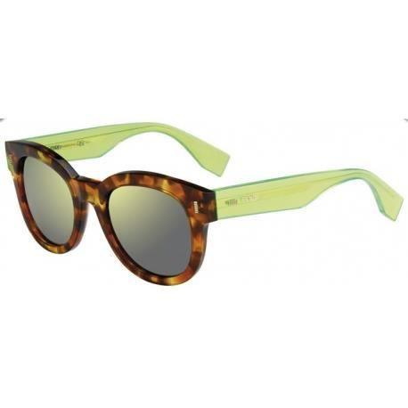 Achetez Lunettes de soleil Fendi Femme FF 0026 S 7OR (QU) havane ... d0e798786dd