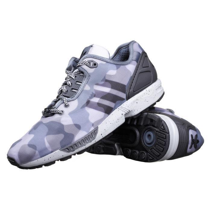 purchase cheap 958c3 69806 BASKET Chaussure Adidas Zx Flux Decon Militaire Gris