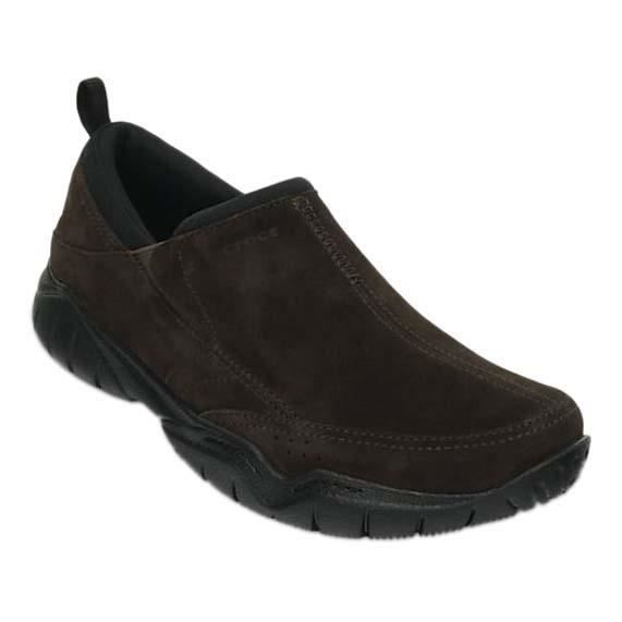 Moc M Crocs Leather De Chaussures Tennis Swiftwater Homme VGqzSMpU