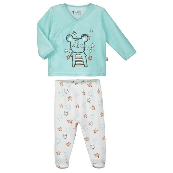 Pyjama bébé 2 pièces Lapinou - Taille - 9 mois (74 cm) Multicolor ... 91750ac7ae2
