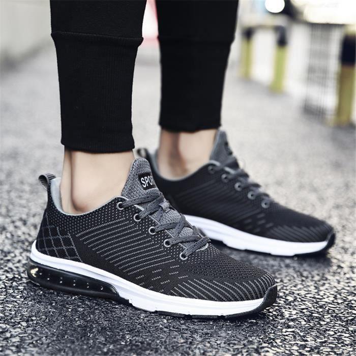 Nouvelle Classique Plus Baskets Homme Haut Sneakers Mode Respirant Poids Léger Chaussures Qualité De Entreprise Couleur QdCxreBWo