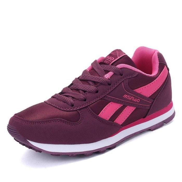 Basket Running Chic Plus Taille Gym Mode Pour Homme rouge 44 R81456325_8217 DGUCY84VW