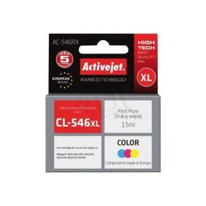 CARTOUCHE IMPRIMANTE ActiveJet Premium AC-546RX Pack de 3 15 ml XL cart