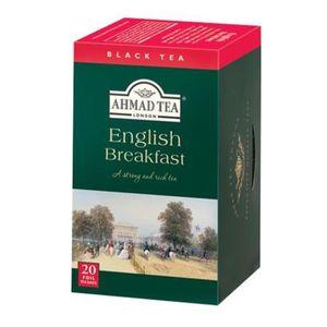 THÉ Thé Noir English Breakfast - Ahmad Tea London - Bo