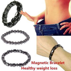 BRACELET - GOURMETTE Chaîne de main de perte de poids de bracelet magné