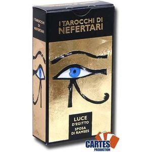 CARTES DE JEU Jeu de 78 cartes : Tarot de Néfertari