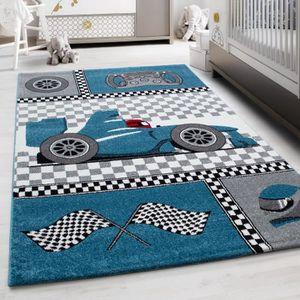 TAPIS Enfants tapis de voiture de course rapide formule
