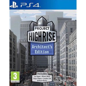 JEU PS4 Project Highrise Architect's Edition PlayStation 4
