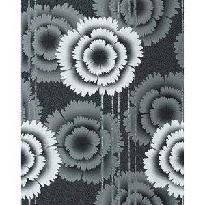 Papier Peint Design Motif Floral Fleurs Retro Annees 70 Edem 056 20